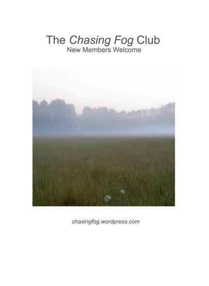 chasingfogclubposter
